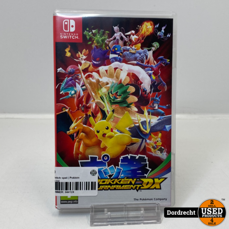 Nintendo Switch spel | Pokkén Tournament DX