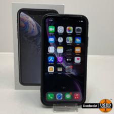 iPhone XR 64GB Zwart | In doos | Met originele bon | Met garantie