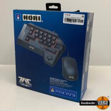 Hori Tac Pro Toetsenbord + Muis voor PlayStation 4 - Zwart | Nieuw uit doos | Met garantie