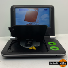 Lenco DVP-733 portable dvd-speler | Met hengsel | Met garantie