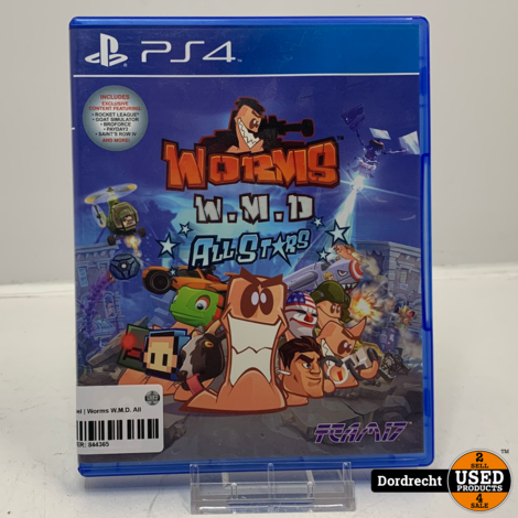 Playstation 4 spel   Worms W.M.D. All Stars
