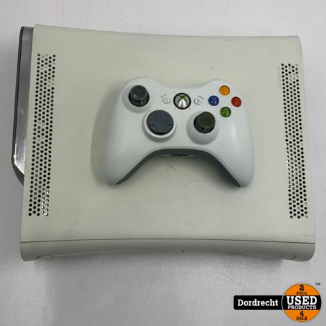 Xbox 360 wit 15GB + 450MB | Met controller | Met garantie
