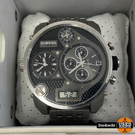 Diesel DZ7221 Horloge Zilver | In doos | Met garantie