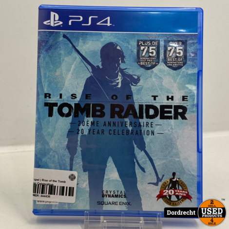 Playstation 4 spel | Rise of the Tomb Raider - 20 Year Celebration