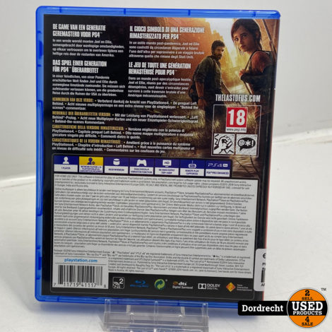 Playstation 4 spel   The Last of Us Remastered