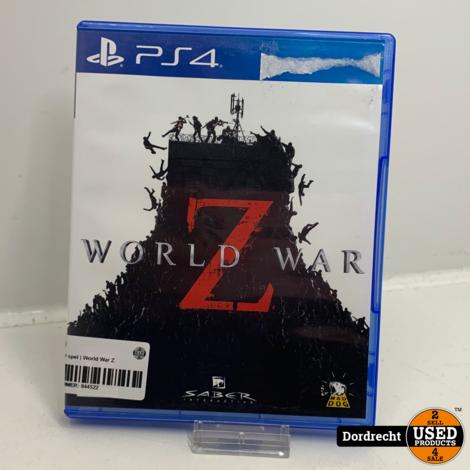 Playstation 4 spel | World War Z