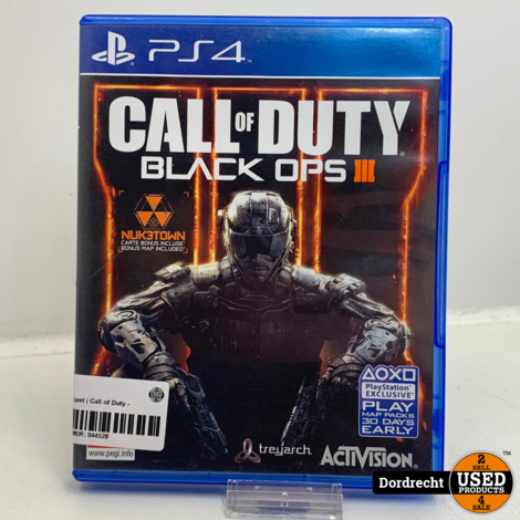 Playstation 4 spel | Call of Duty - Black Ops III