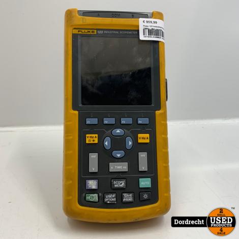 Fluke 123 Industrial Scopemeter 20MHz | Met garantie