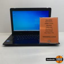 Asus X301A Laptop   Intel Celeron   4GB Ram   140GB HDD   Windows 10   Met garantie
