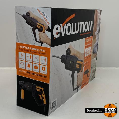 EVOLUTION SDS4-800 Boormachine Drill 230v | NIEUW in doos | Met garantie