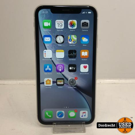 iPhone XR 64GB Wit | Met garantie