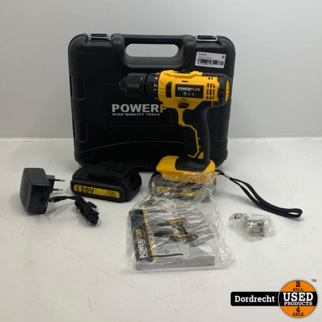 Powerplus POWX00435 Accuboormachine | In kist | Met accu en lader | Met garantie
