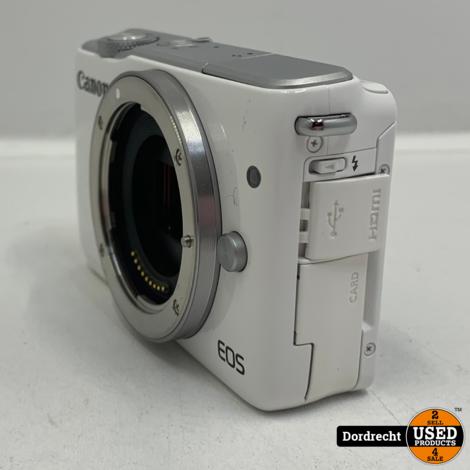 Canon Eos M10 camera | Zonder lens | Met lader | Met garantie