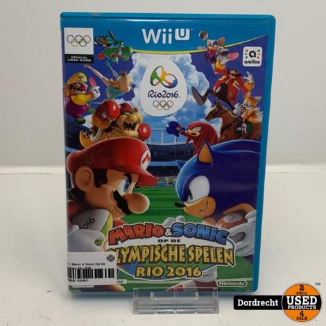 Nintendo Wii U spel | Mario & Sonic Op De Olympische Spelen Rio 2016