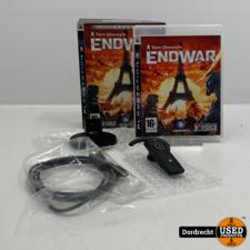 Playstation 3 spel + headset   Tom Clancy's Endwar Limited Edition