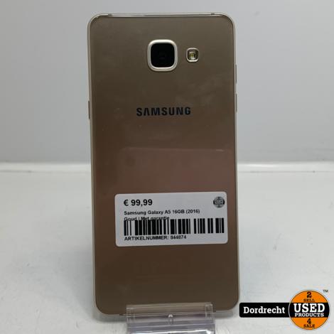 Samsung Galaxy A5 16GB (2016) Goud | Met garantie