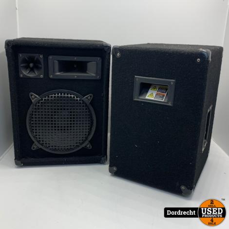 Omnitronic DX-1022 Party speaker | Set van 2 | Met garantie