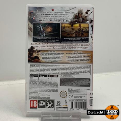Nintendo Switch spel | Assassin's Creed III remastered
