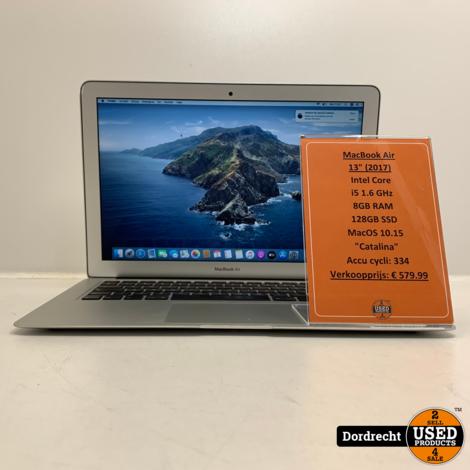 Macbook Air 2017 | Intel Core i5 | 128GB SSD | 8GB RAM Videokaart | Deukje | Met garantie