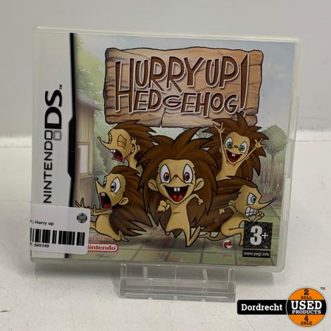 Nintendo DS spel | Hurry up Hedgehog