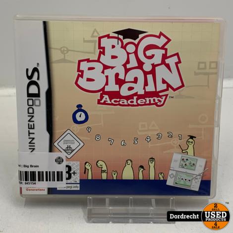 Nintendo DS spel | Big Brain Academy