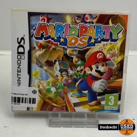 Nintendo DS spel | Mario Party DS