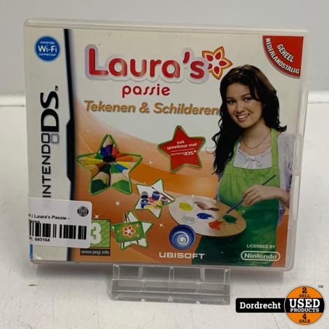 Nintendo DS spel | Laura's Passie - Tekenen en Schilderen