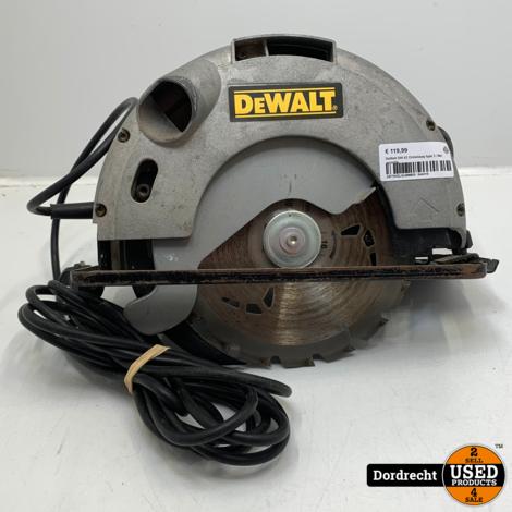 DeWalt DW 62 Cirkelzaag type 3 | Op snoer | Met garantie