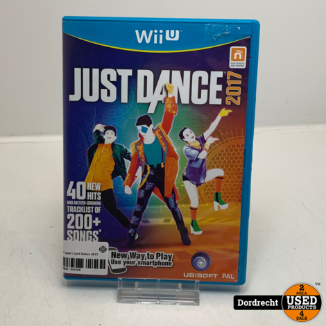 Nintendo Wii U spel   Just Dance 2017