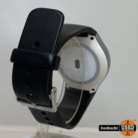 Samsung Gear S2 Smart watch Zilver | Zwarte band | Met garantie