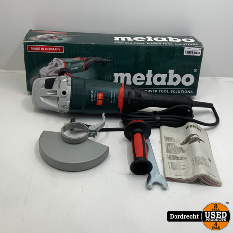 Metabo WE 22-180 MVT Haakse slijper | In doos | Met garantie