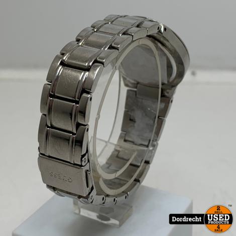 Guess Horloge W11178L1 zilver | Met Garantie