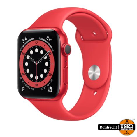 Apple Watch Series 6 44MM Red Case Red Band   Nieuw in seal   Met garantie