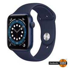 Apple Watch Series 6 44MM Blue Case Deep Navy Band | Nieuw in seal | Met garantie