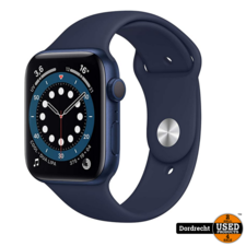Apple Watch Series 6 44MM Blue Case Deep Navy Band | Nieuw in seal | Met garantie