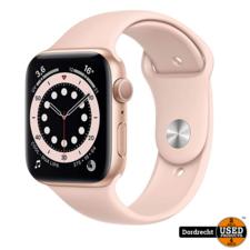 Apple Watch Series 6 44MM Gold Case Pink Band | Nieuw in seal | Met garantie