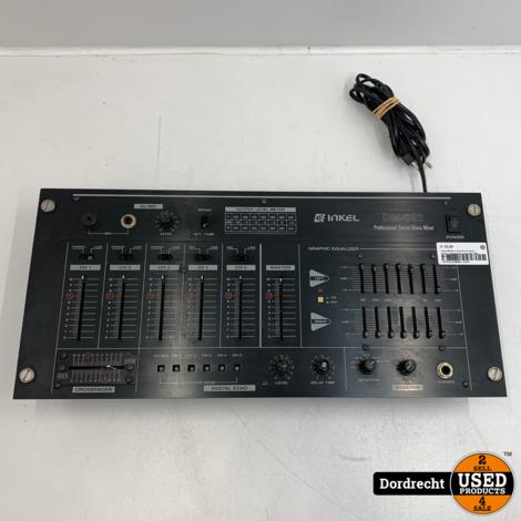 Inkel DM-602 professional stereo mixer / mengpaneel | Gebruikt | Met garantie
