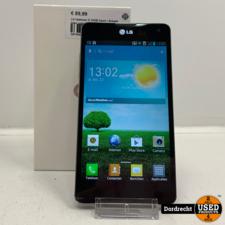 LG Optimus G 32GB Zwart   Schade links onder   In doos   Met garantie