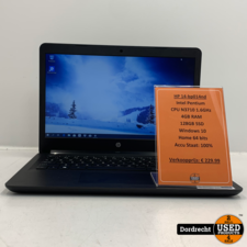 HP 14-bp014nd Laptop | Intel Pentium 128GB SSD 4GB RAM Windows 10 | Met garantie