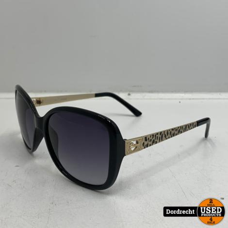 Guess GU7144 Zonnebril Zwart/goud | In hoes | Met garantie