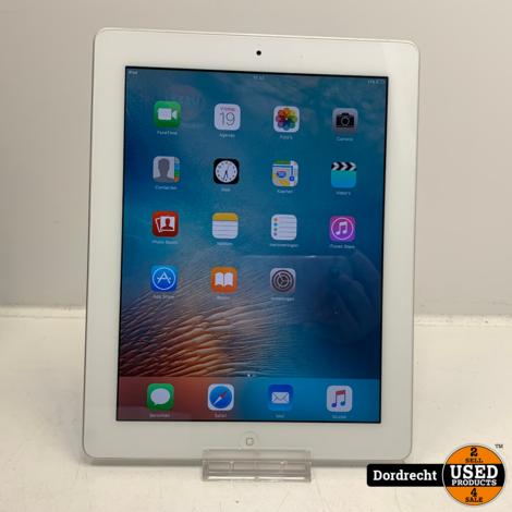 iPad 2 16GB Zilver | iOs 9.3.5 | Met garantie