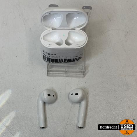 Apple AirPods 2 | In oplaad case | Met garantie