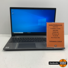 Lenovo ThinkBook 15 IIL laptop | Intel Core i5 1035G1 | 8GB RAM 256GB SSD Windows 10 Pro | Met garantie