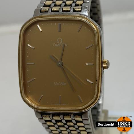 Omega de Ville Horloge | Zilver met goud | Klein model | Met garantie