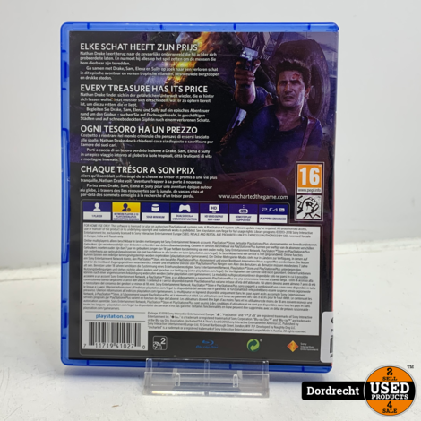 Playstation 4 spel | Uncharted 4 - A thiefs end