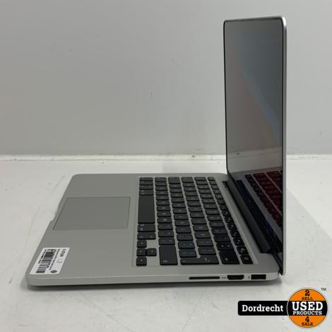 Macbook Pro 2013 13inch Intel Core i5 2.4Ghz 128GB SSD 4GB RAM | Met garantie