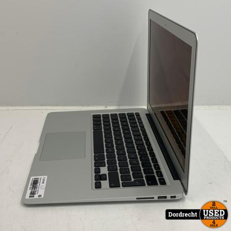 Macbook Air 2010 13 inch   Intel Core 2 Due 1.86GHz   2GB RAM 128GB SSD MacOS 10.13.6 Accu Cycli 452 NVIDIA GeForce 320M 256MG   Met garantie