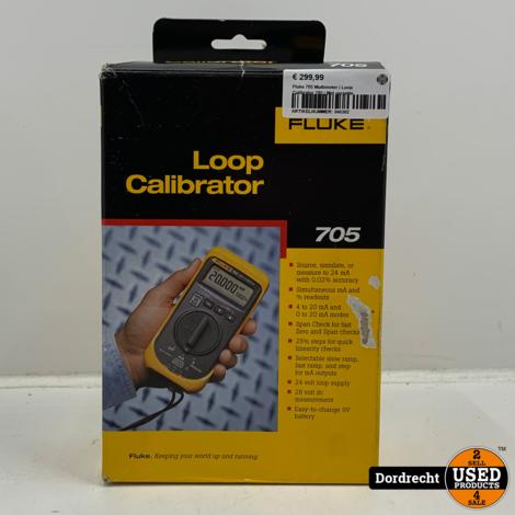 Fluke 705 Multimeter | Loop Calibrator 705 | In doos | Met garantie