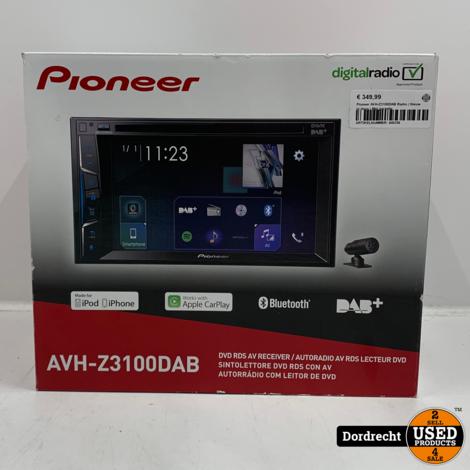 Pioneer AVH-Z3100DAB Radio | Nieuw in doos | Met garantie