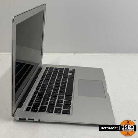 Macbook Air 2014 13 inch | Intel Core i5 1.4 GHz 4GB RAM 128GB SSD MacOS 10.15.7 | Intel HD Graphics 5000 1536 MB | Met garantie